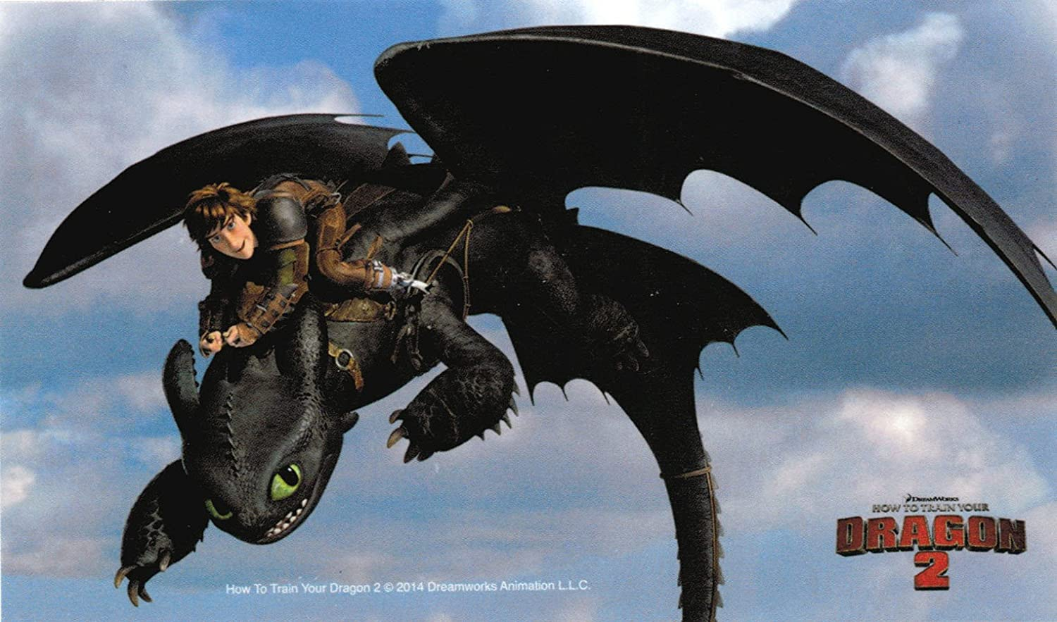How To Train Your Dragon 2 Flying Toothless Toy | Howsto.Co - photo#50