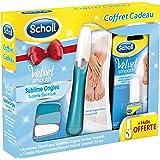 Scholl - Velvet Smooth Coffret + Huile Nourrissante Système Électrique Sublime pour Ongles