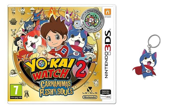 3DS Yo-Kai Watch 2: Carnánimas + Medalla - Edición Especial ...