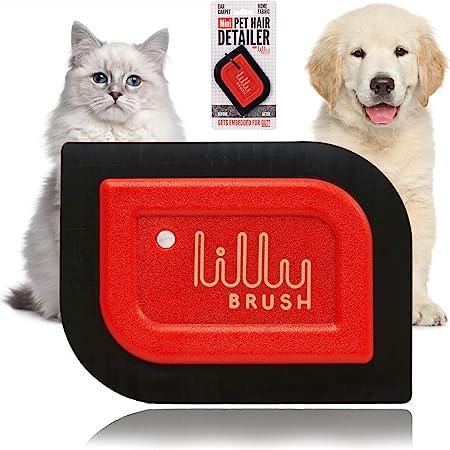 Lilly Brush Mini Pet Hair Detailer Dog Hair Remover - Best For Performance