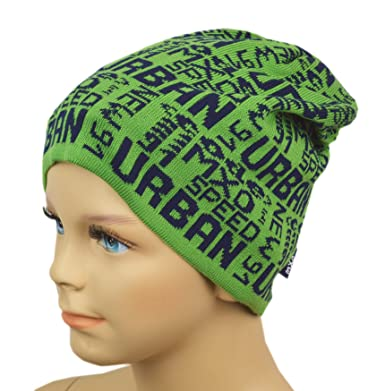 MaxiMo bonnet-bonnet urban mXO en vert pour garçon  Amazon.fr ... eb21cd0f8e1
