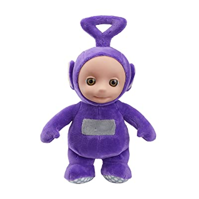 Teletubbies 06109 Cbeebies Talking Tinky Winky Soft Toy (Purple): Toys & Games