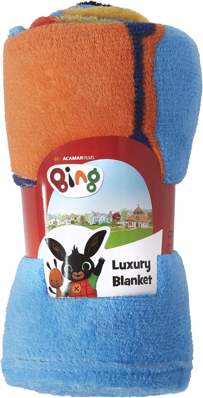 Manta de forro polar para dormitorio Coco Moon Bing Bunny Rebel Rules