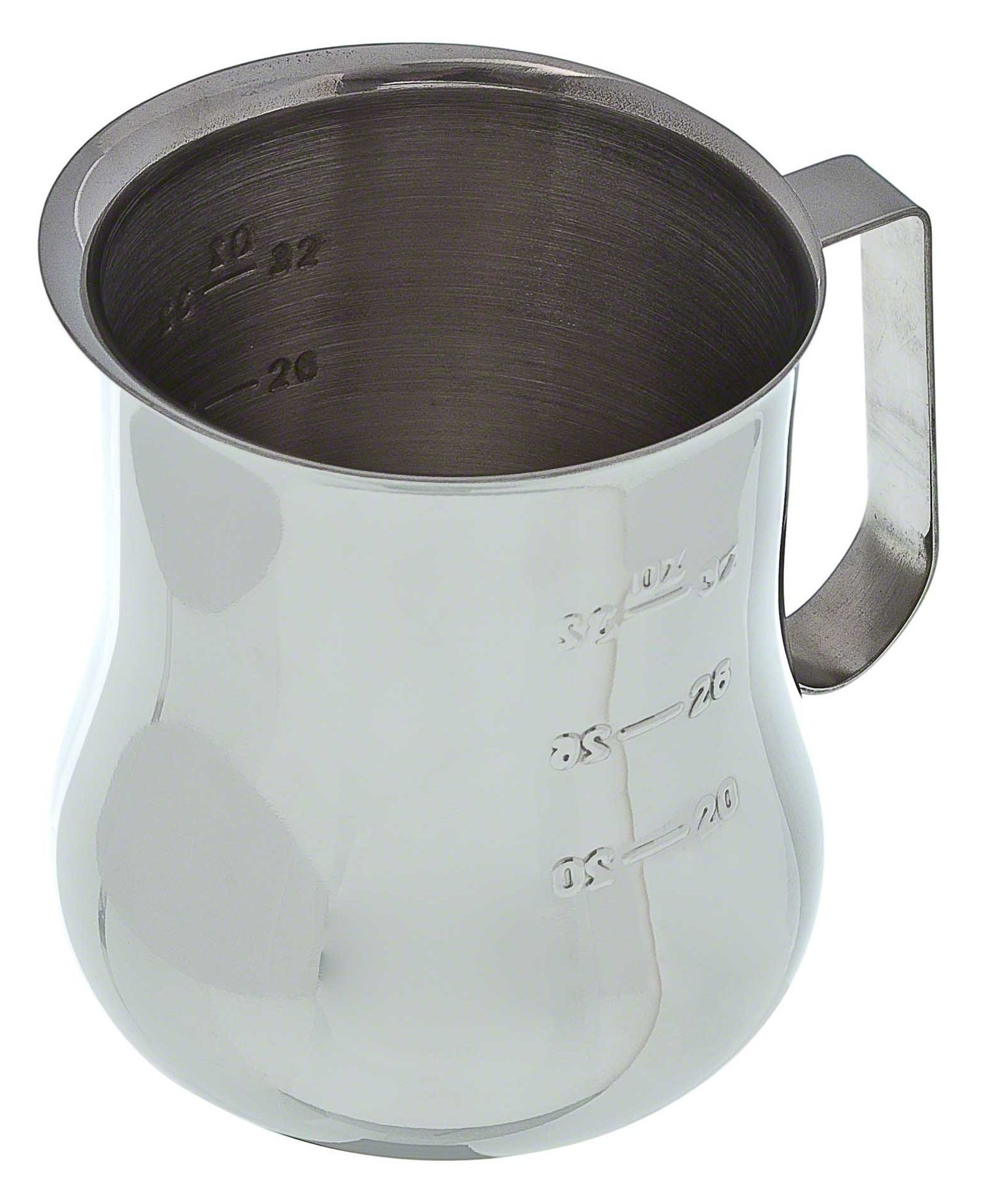 Update International (EPB-40M) 40 Oz Stainless Steel Frothing Pitcher w/Measuring Scale