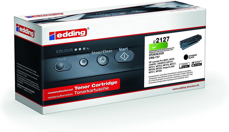 Edding Edd 2127 Remanufactured Toner 1 Er Pack Bürobedarf Schreibwaren