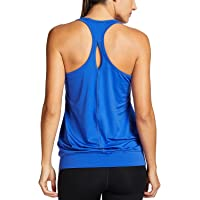 SYROKAN - Camiseta de Fitness Deportiva de Tirantes para Mujer