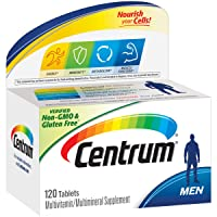 Centrum Men (120 Count) Multivitamin / Multimineral Supplement Tablet, Vitamin D3