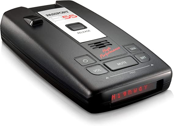 Escort Passport S55 Radar Detector – Extended Long Range