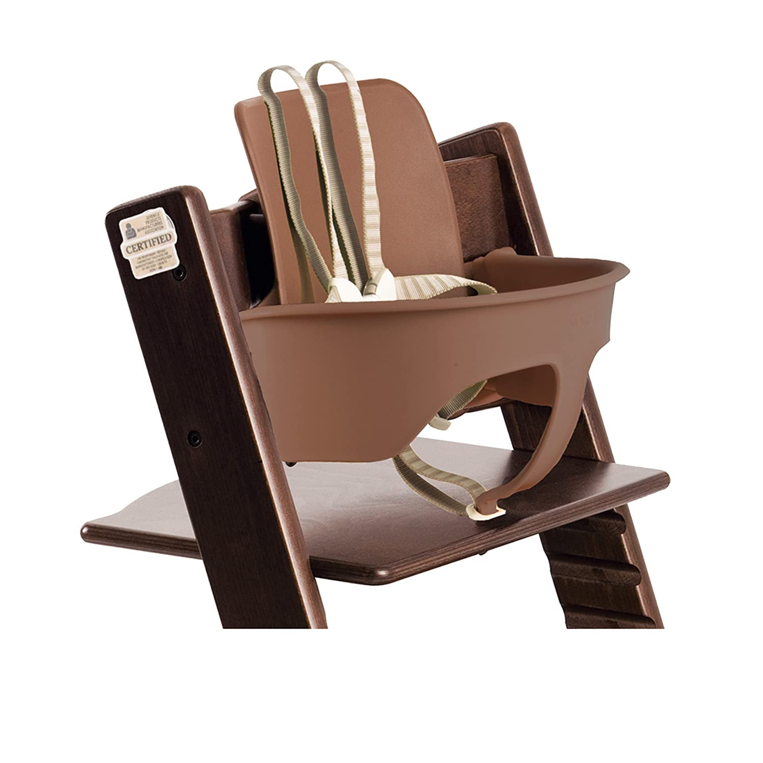Amazon Stokke Tripp Trapp Chair Baby Set Walnut Brown