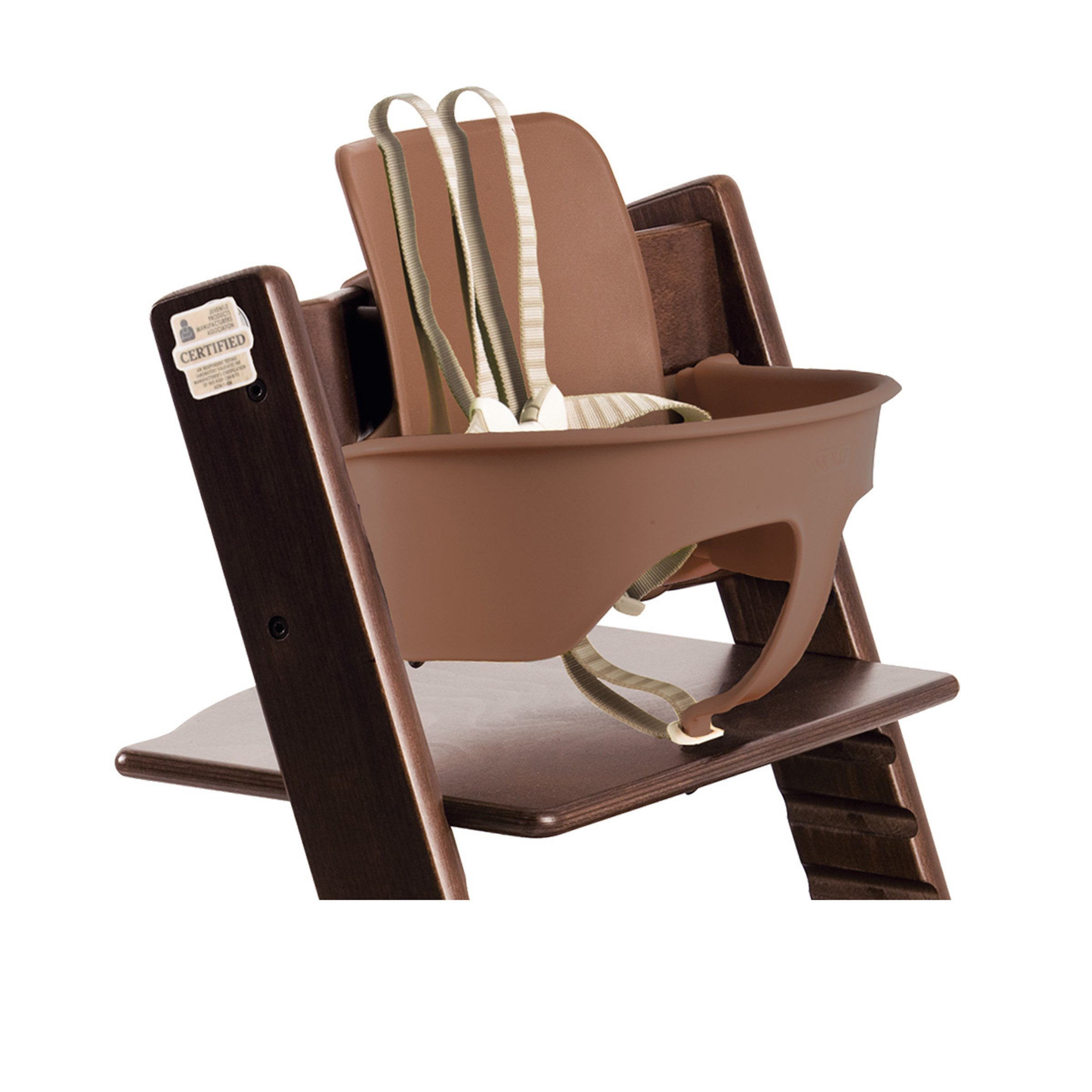 stokke tripp trapp high chair walnut brown baby. Black Bedroom Furniture Sets. Home Design Ideas