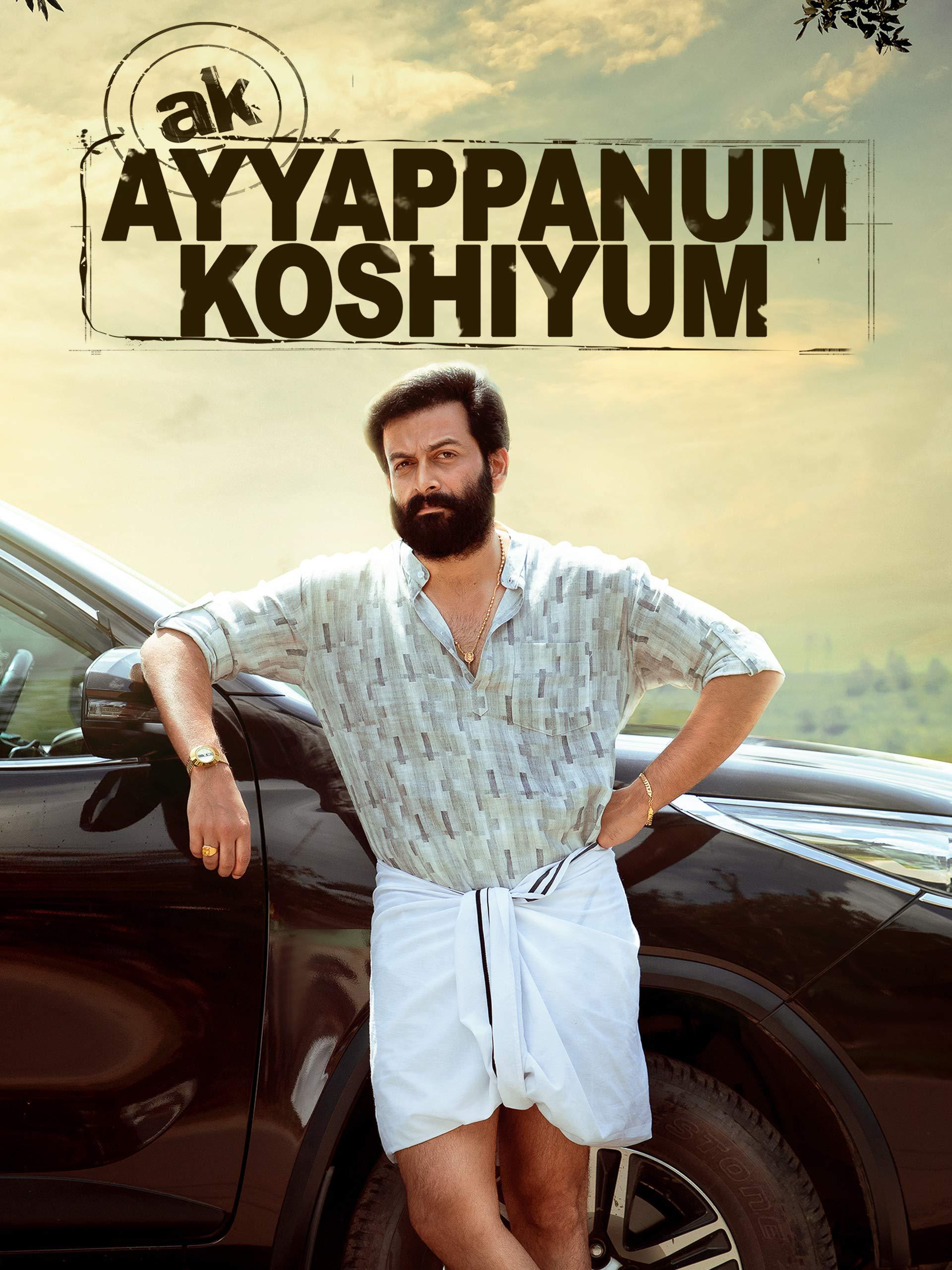 Watch AK Ayyappanum Koshiyum | Prime Video