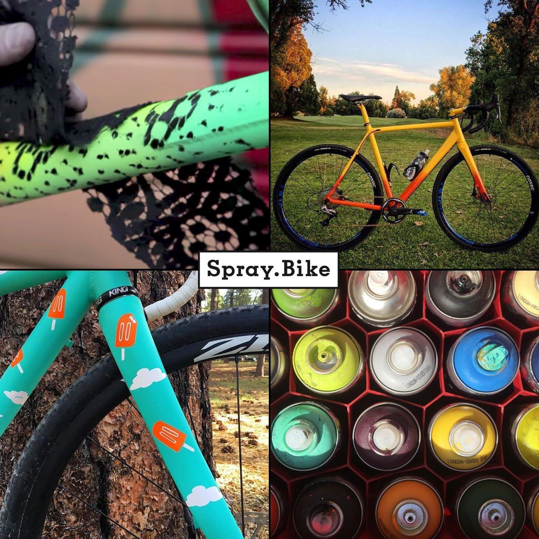 Spray.Bike 48400. Barniz 1. Pintura en spray específica para ...