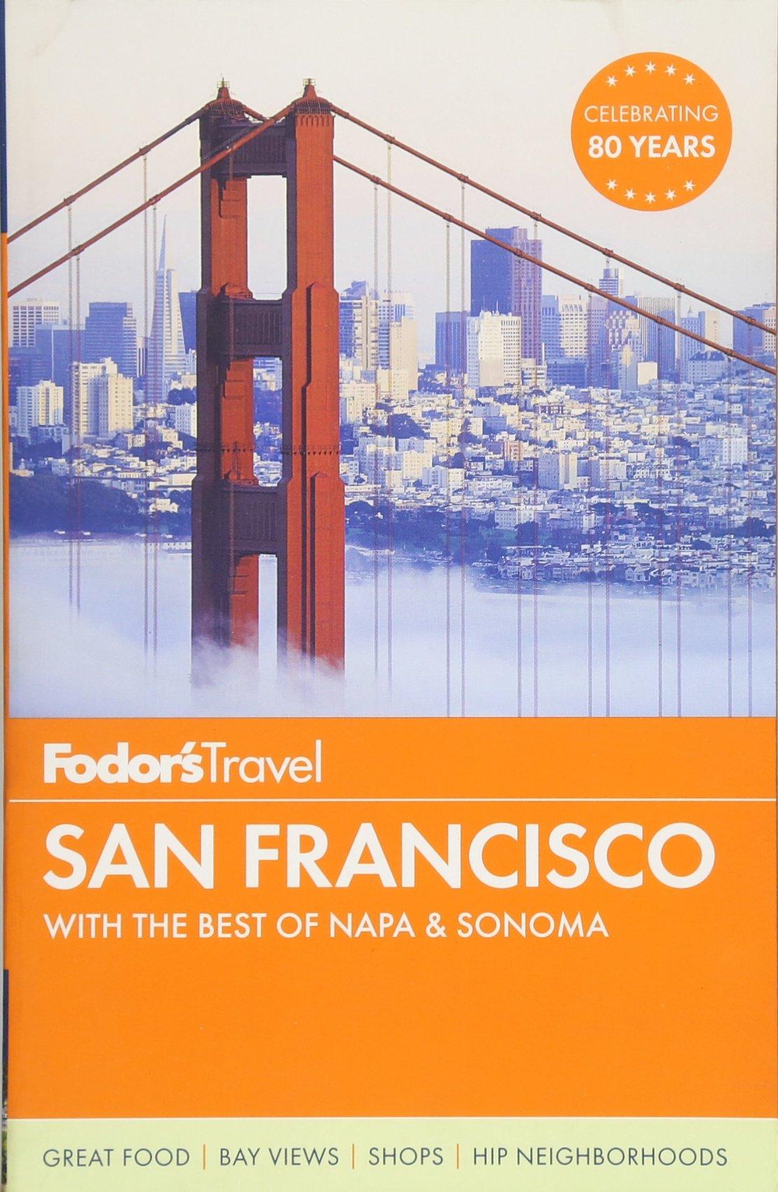 Fodors San Francisco Sonoma Full color product image