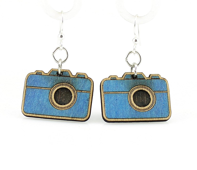 Small Camera Earrings