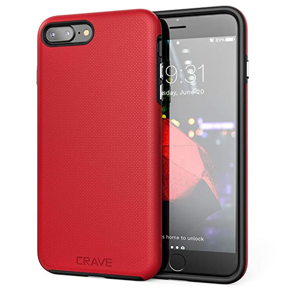 apple iphone 7 plus case red