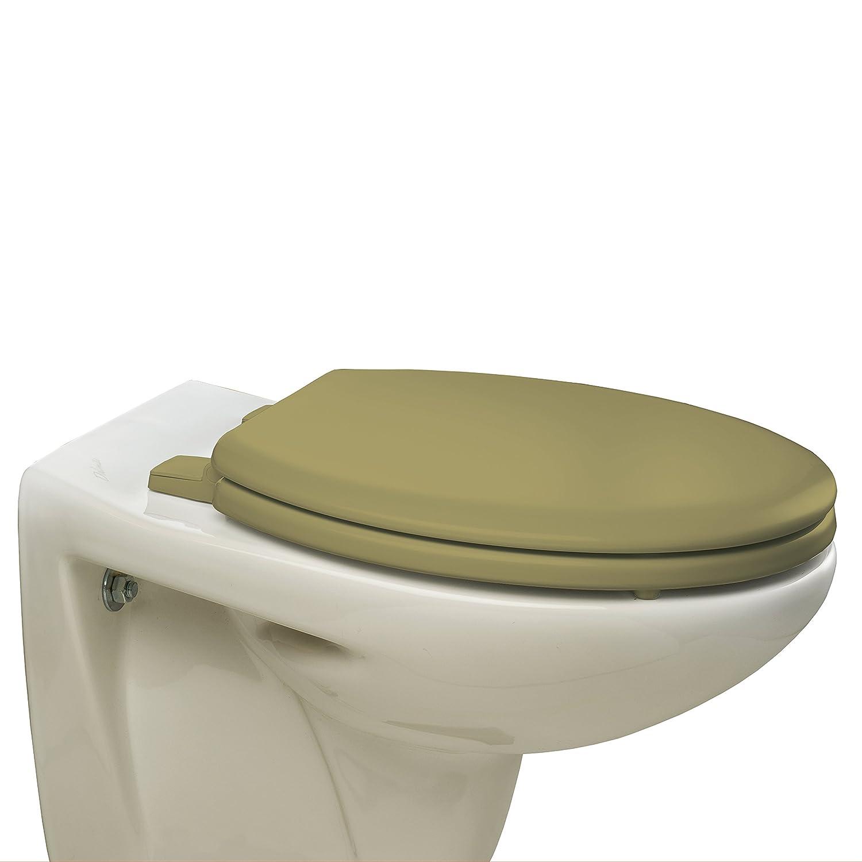 con cerniere in plastica Sta-Tite colore: Crema Bemis 5001AR Chicago Sedile copri WC in legno