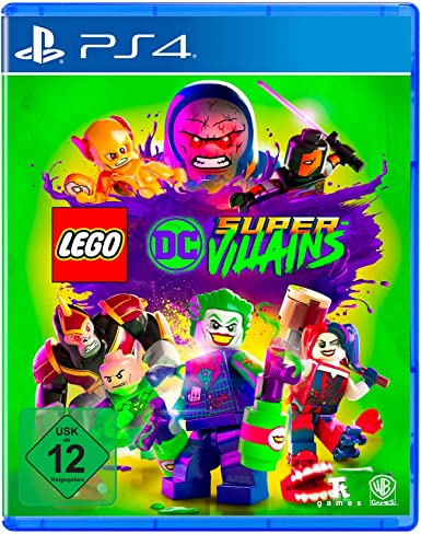 LEGO - DC Super-Villians - PlayStation 4 [Importación alemana]: Amazon.es: Videojuegos