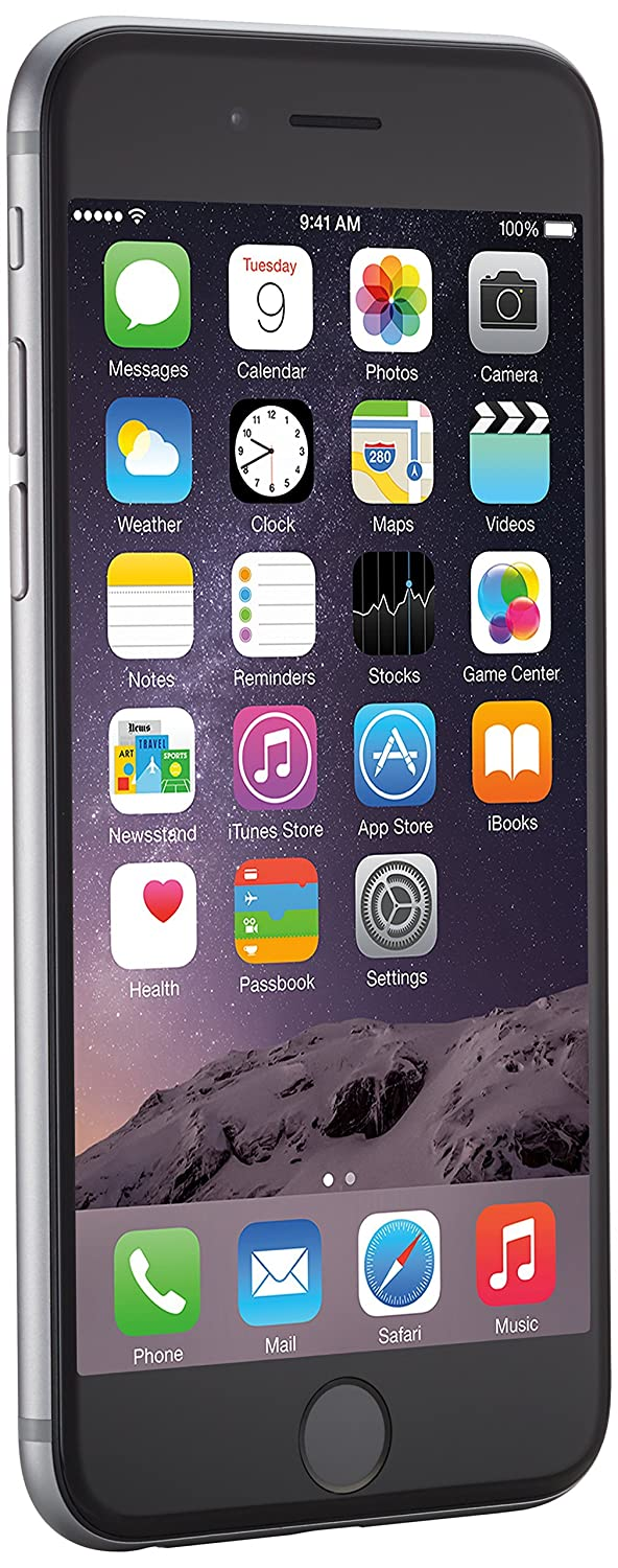 TALLA 16GB. Apple iPhone 6 Gris Espacial 16GB Smartphone Libre (Reacondicionado)