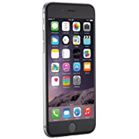 "Apple iPhone 6, 4,7"" Display, SIM-Free, 64 GB, 2014, Space Grau (Zertifiziert und Generalüberholt)"