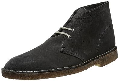 41 Sde Clarks Originals Grey Gris Boot Desert Homme dark Boots 7SqR7