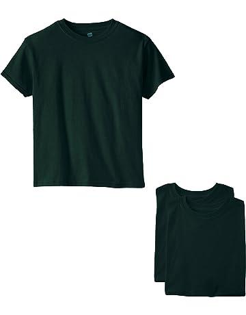 e2f50d79701 Hanes Big Boys  Short Sleeve Comfort Soft Tee Pack ...