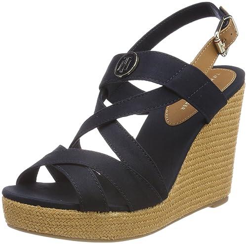 Tommy Hilfiger Iconic Elena Sandal Hardware, Alpargata para Mujer: Amazon.es: Zapatos y complementos