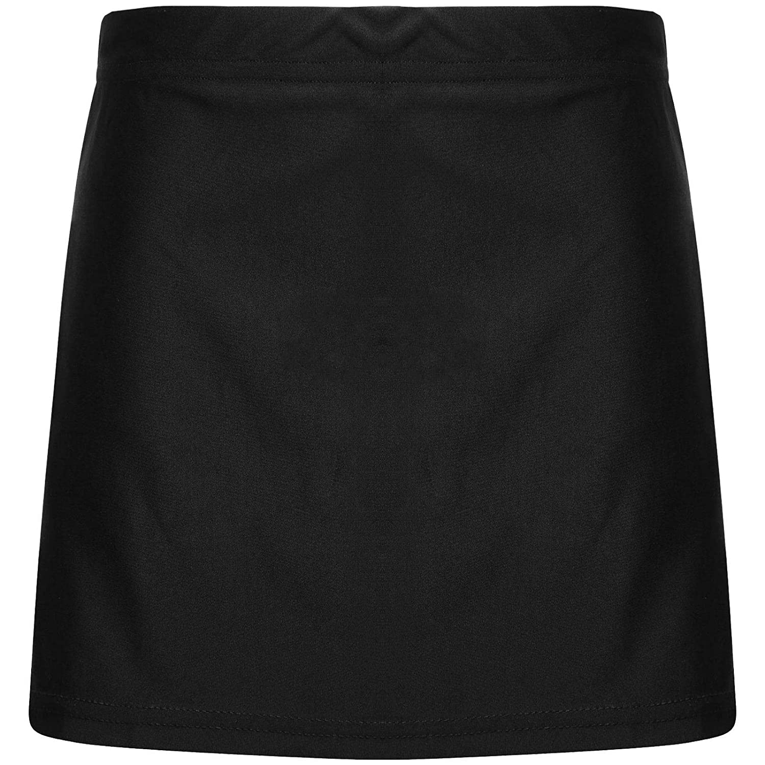GIRLS SKORT OUTER SKIRT AND BASE LAYER SHORTS LADIES PE UNIFORM SCHOOL SPORTS