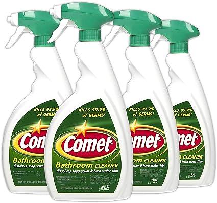 Amazon Com Comet Bathroom Cleaner Spray 32 Oz 4 Pack Health Personal Care