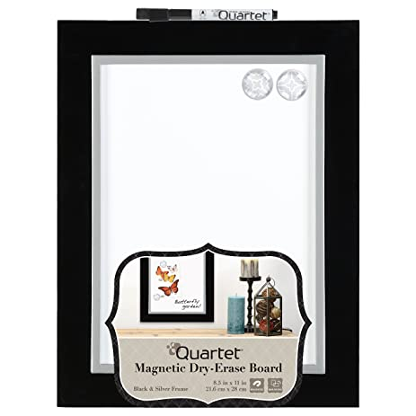 Quartet Dry Erase Board, Magnetic, 8 1/2u0026quot; X 11u0026quot