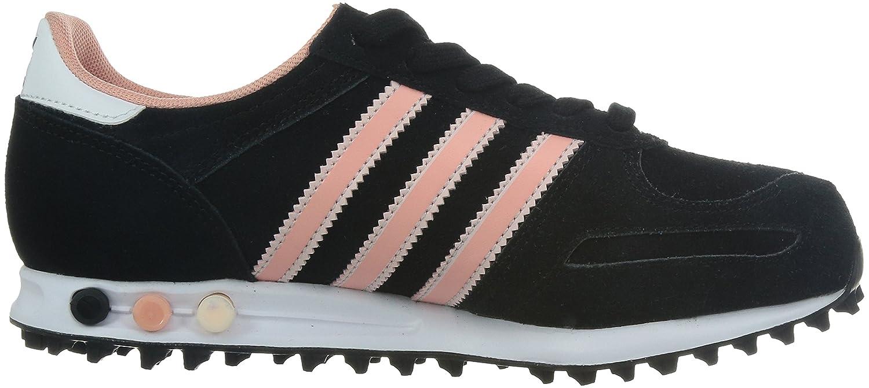 adidas la trainer noir et rose