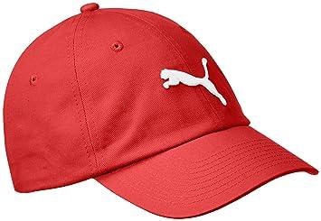 Puma Cap Basic - Gorra (Rojo) 90f4c830358