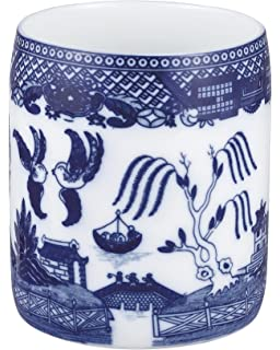 Nice HIC Blue Willow Utensil And Kitchen Tool Holder, Fine White Porcelain,  6 Inches