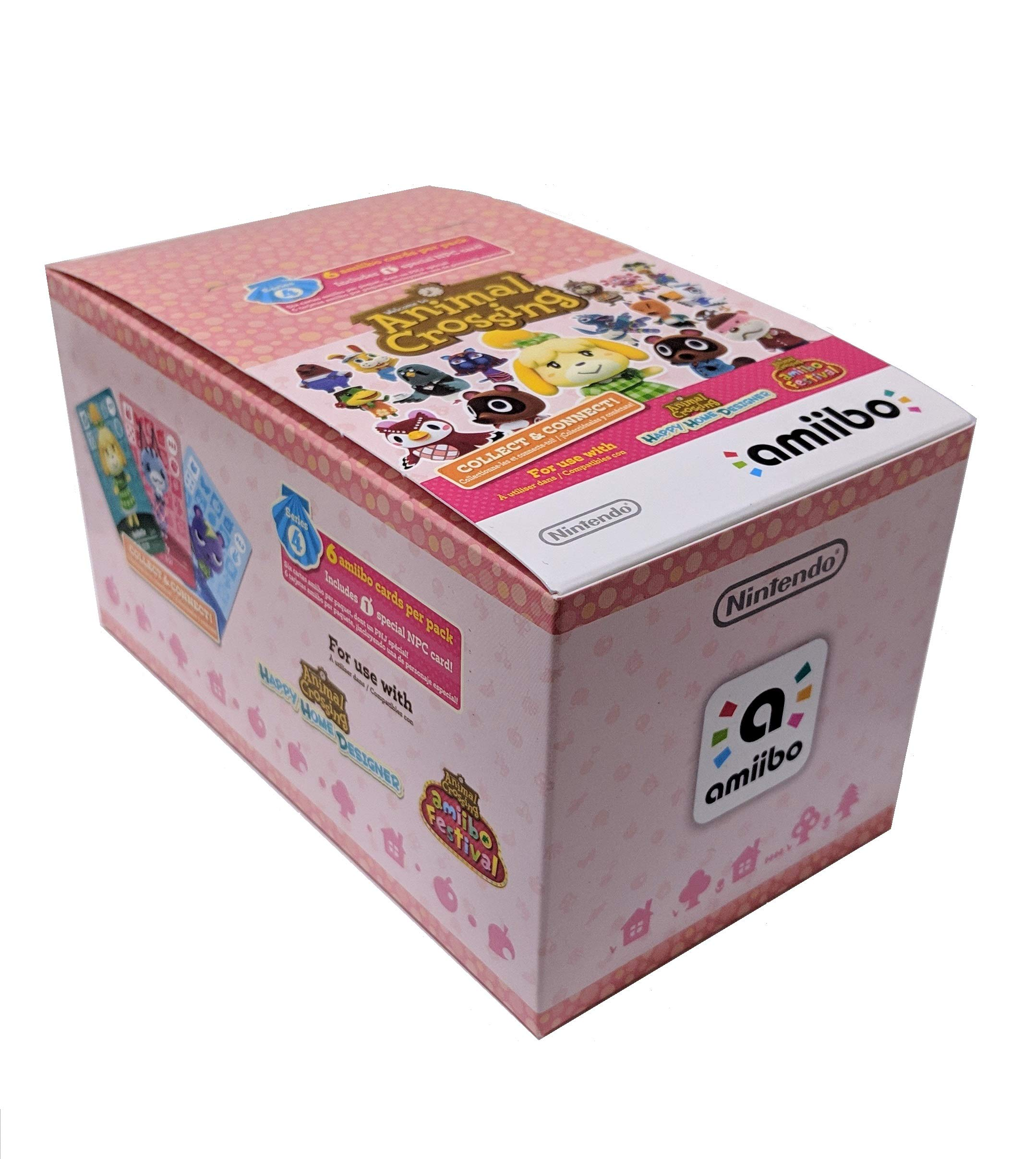 Animal Crossing Amiibo Cards Series 4 - Full box (18 Packs) (6 Cards Per Pack/108 Cards) ... by Nintendo (Image #2)