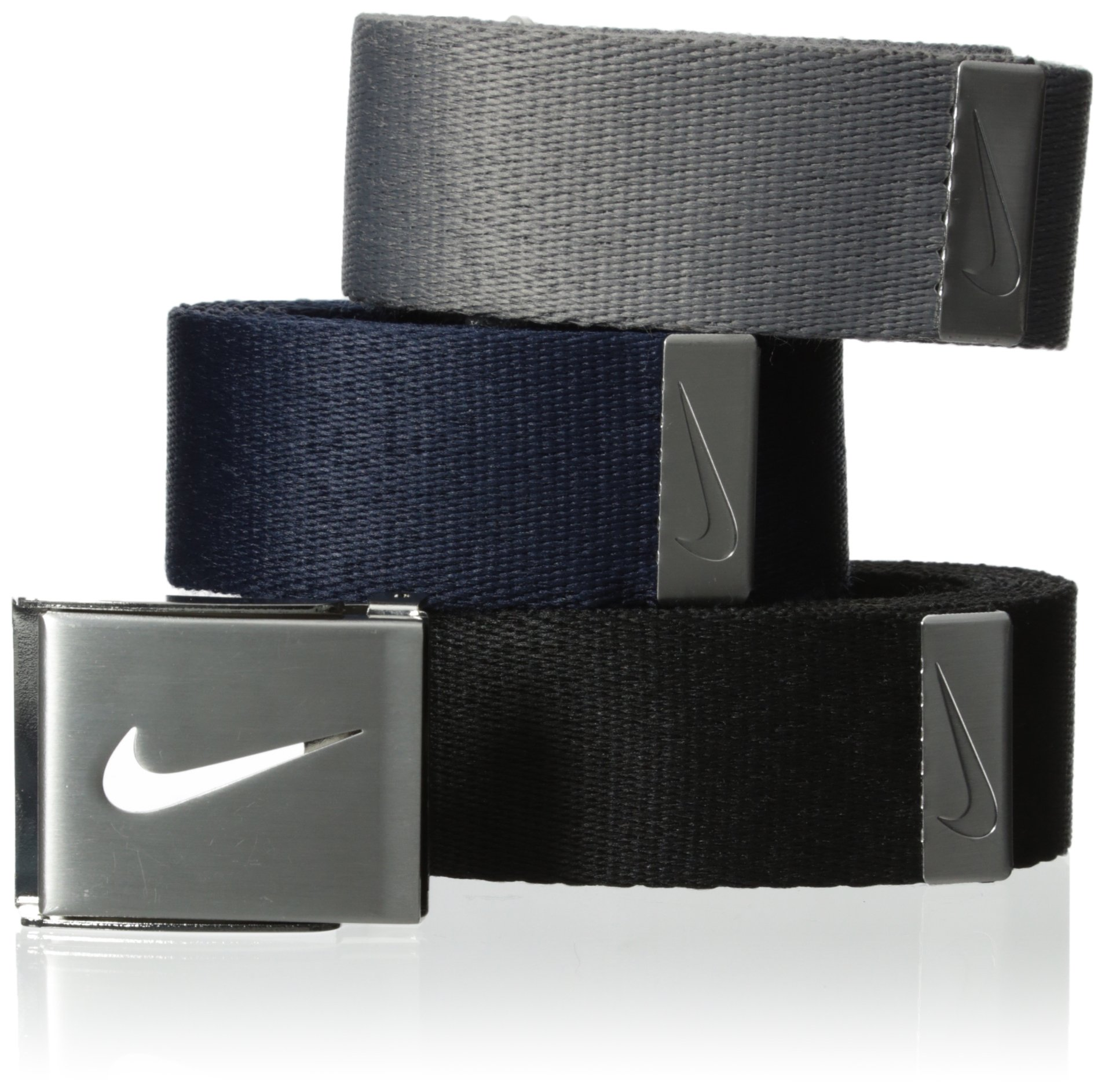Nike Men's 3-In-1 Web Pack, Black/Grey/Navy, One Size