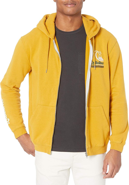 Quiksilver Men's Sweet as Slab Zip Fleece: Clothing