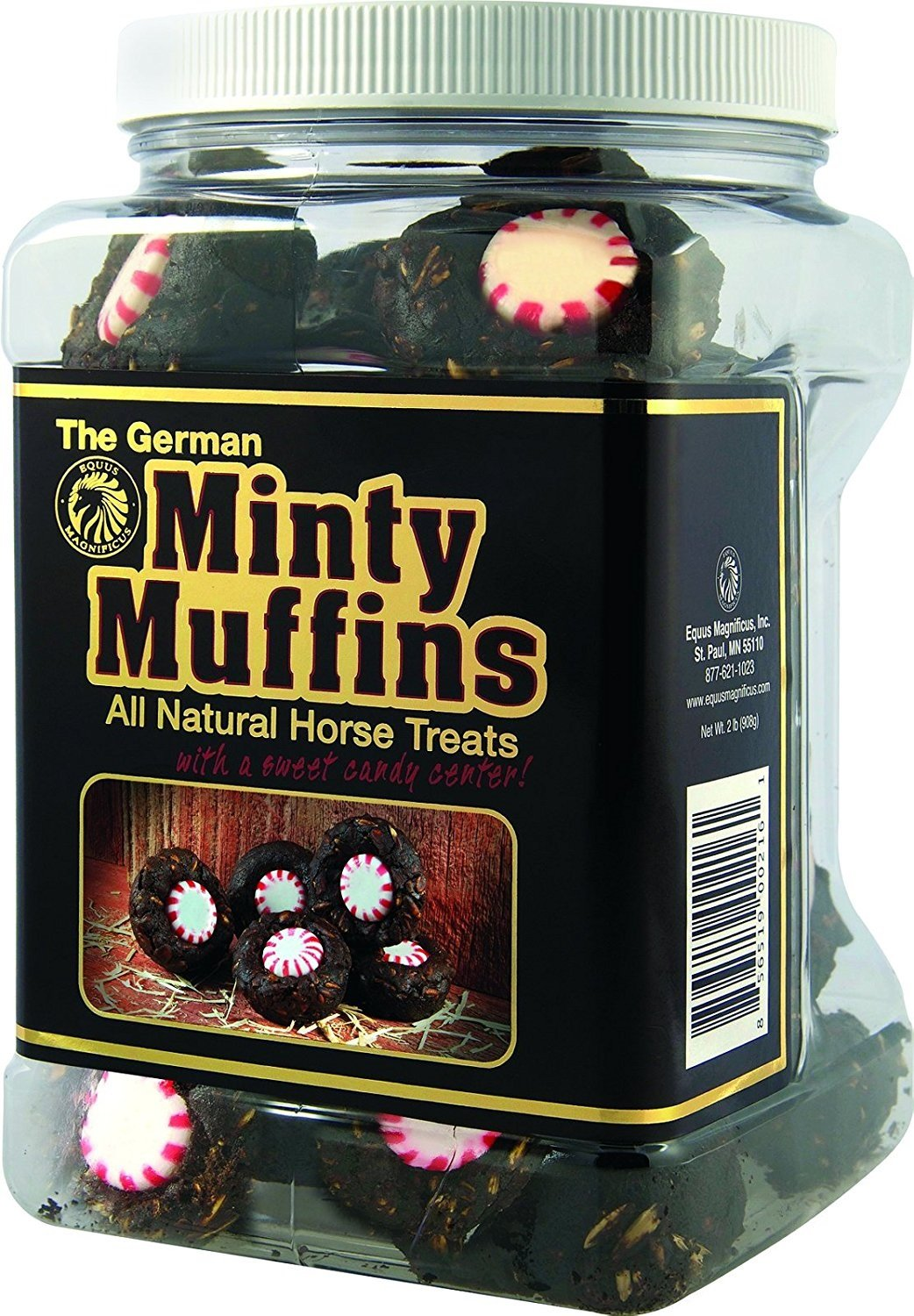 Equus Magnificus German Minty Muffins 2 lb by Equus (Image #1)