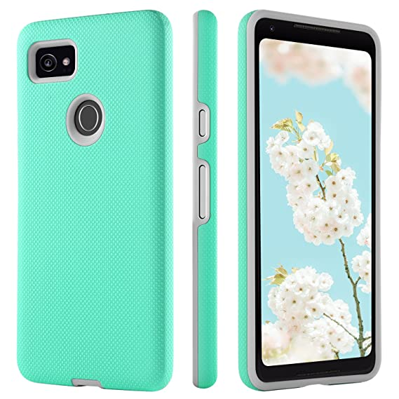 separation shoes 2abc9 0778a BENTOBEN Google Pixel 2 XL Case, Slim Non-Slip Scratch Proof Armor Cell  Phone Cases Heavy Duty Hybrid 2 in 1 Hard PC Soft TPU Shockproof Protective  ...