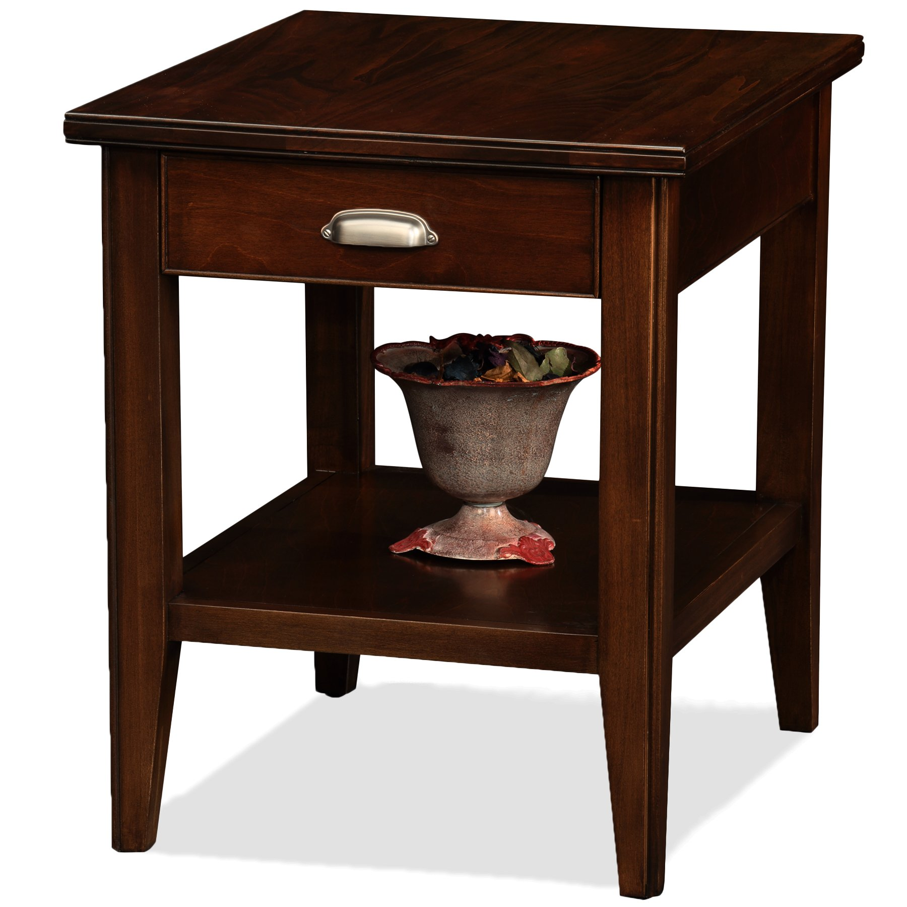 Leick Laurent End Table with Drawer by Leick Furniture