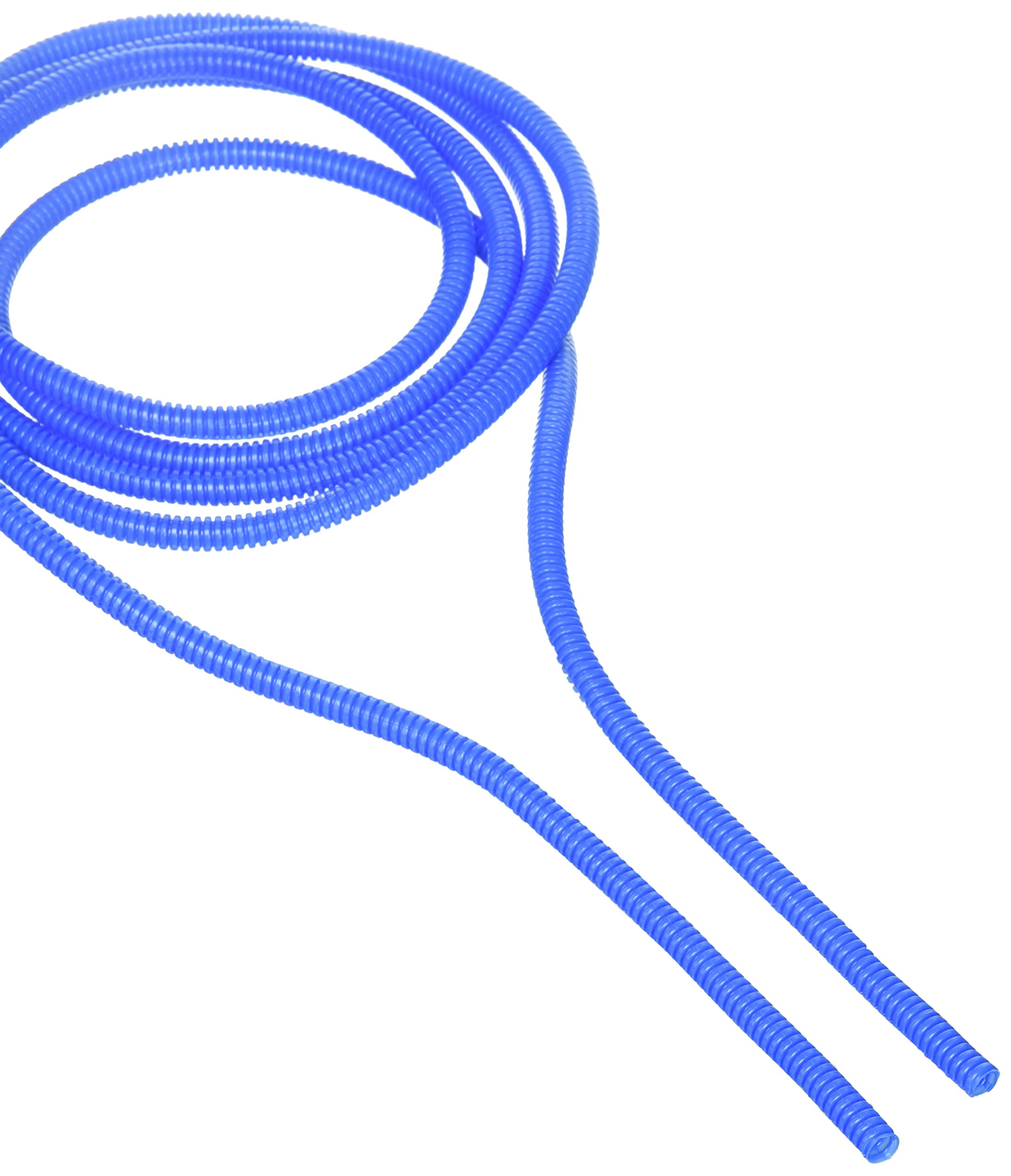 Taylor Cable 38260 Blue Convoluted Tubing