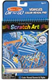 Melissa & Doug On the Go Scratch Art Color-Reveal Pad - Vehicles
