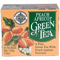 Mlesna Flavoured Green Tea, Peach Apricot, 100g