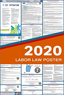 2020 Wyoming State /& Federal Labor Law Posters for Workplace Compliance