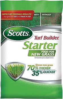 Scotts Turf Builder Starter Food for New Grass Lawn Fertilizer