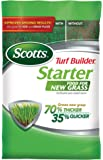 Scotts Turf Builder Starter Food for New Grass, 15 lb. - Lawn Fertilizer for Newly Planted Grass, Also Great for Sod and…