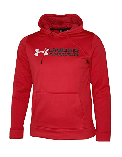 ff000554c Under Armour Men's Storm Fleece UA Logo Hoodie Athletic Hooded Shirt Fleece  Lined at Amazon Men's Clothing store: