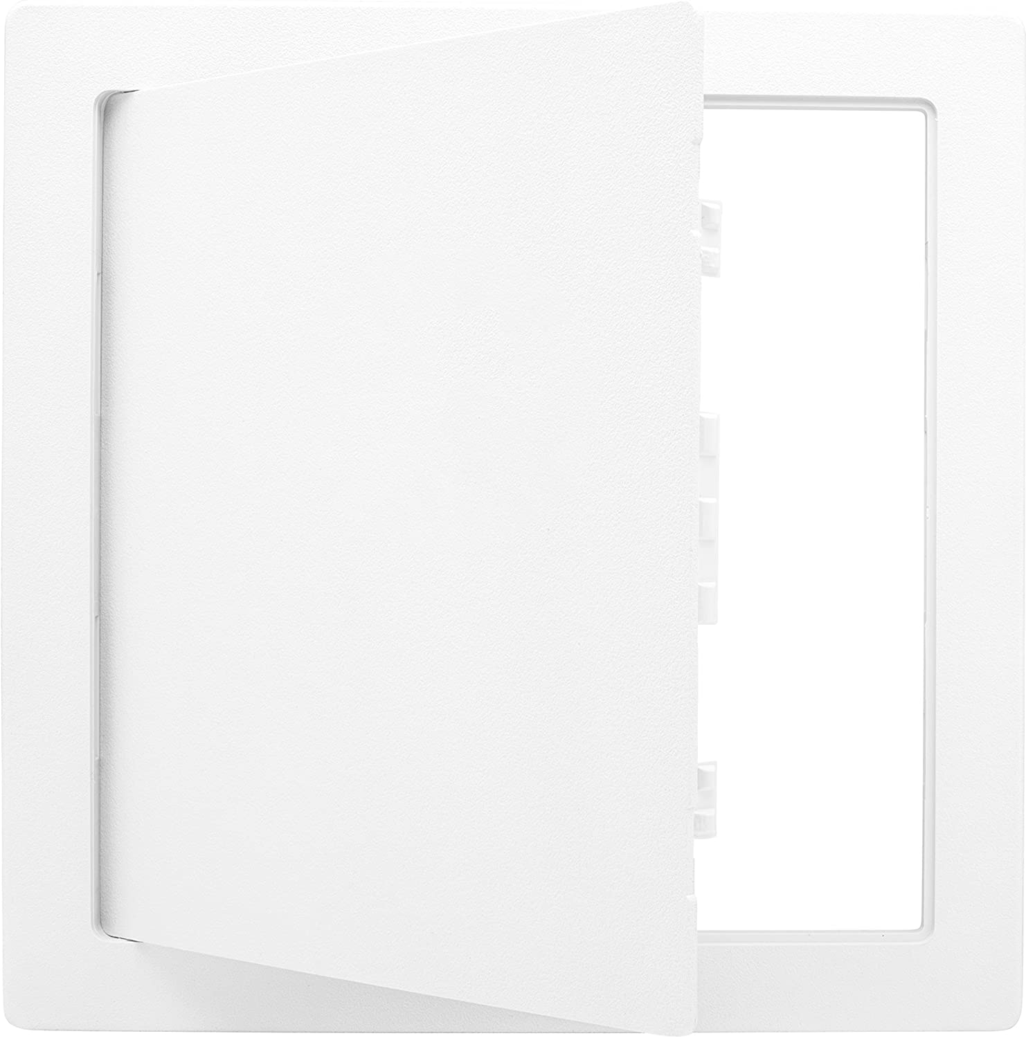 Morvat Plastic Access Panel 14 X 14, Access Door for Drywall, Access Panel for Drywall, Wall Access Panel, Plumbing Access Panel, Heavy Durable Plastic, White