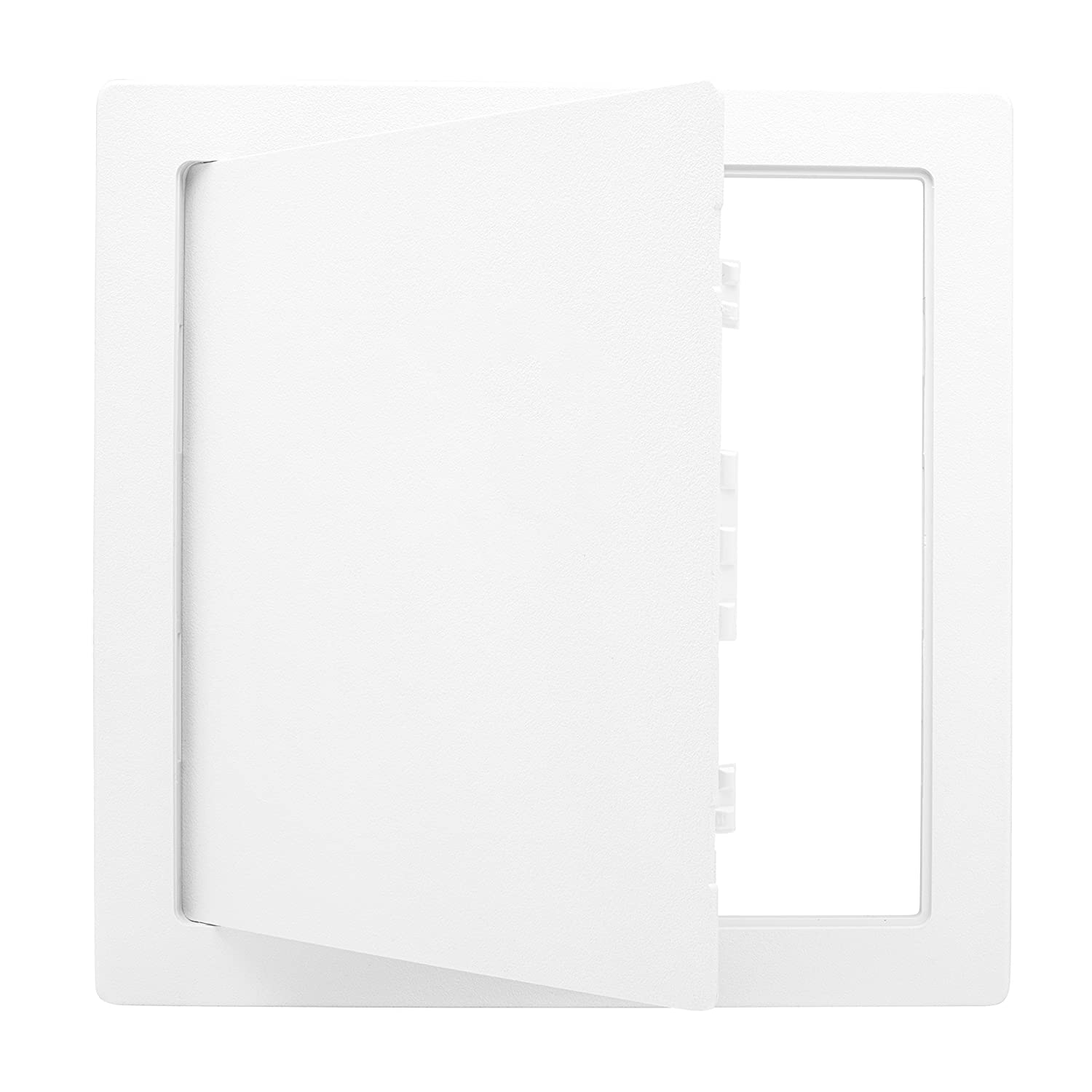 Morvat 12x12 Plastic Access Panel Door White For Drywall Wall RV Electrical Box Laundry Chute and More