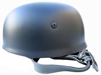 NuoYa005 helero alemán WW2 M38 Paracaidista Repro gris y casco fusco