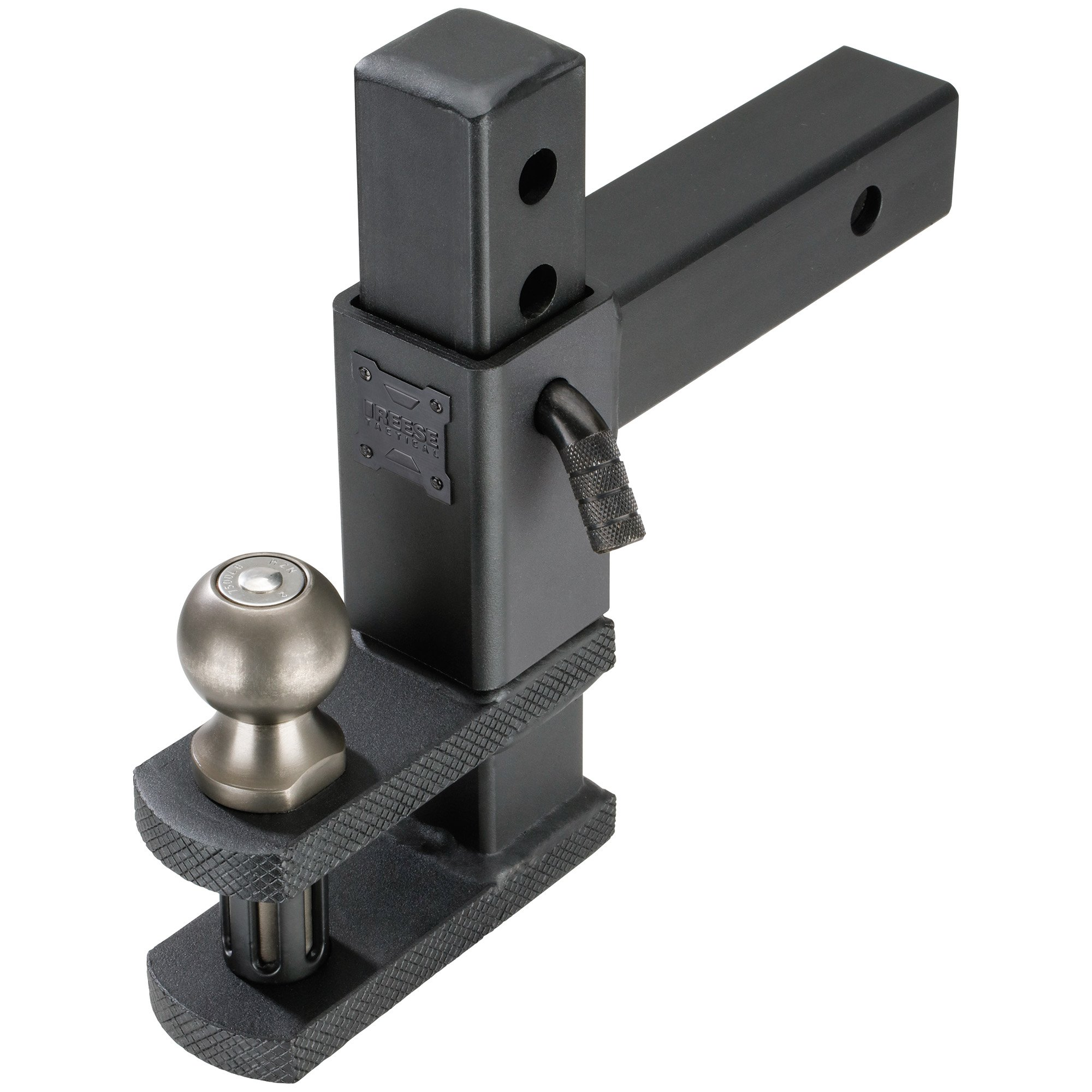 Reese Towpower 7089444 Tactical Adjustable Ball Mount with Clevis