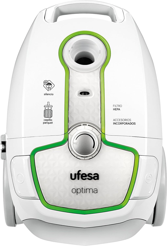 Ufesa AC5000 Aspirador con bolsa, 700 W, Blanco y verde: Amazon.es ...